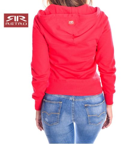 IMELDA ZIP JOGGING TOP RETRO JEANS